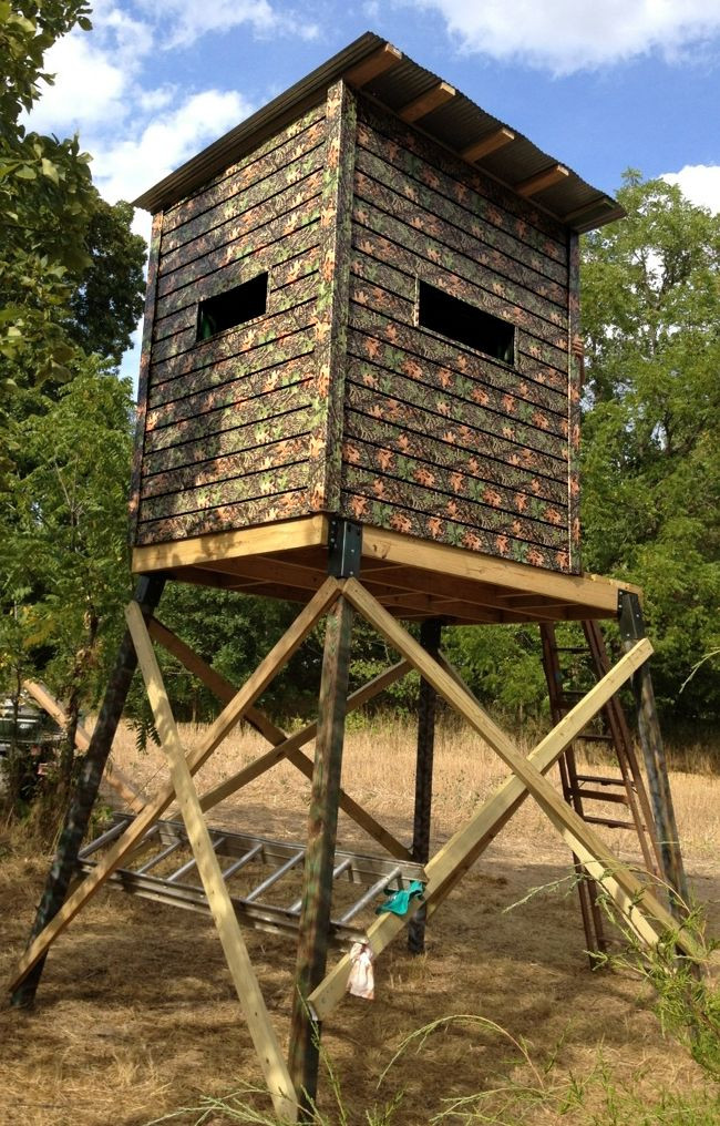 Best ideas about DIY Deer Stand Plans . Save or Pin Best 20 Deer Blinds ideas on Pinterest Now.