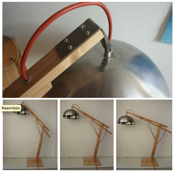 Best ideas about Diy Desk Lamp . Save or Pin DIY Adjustable Desk Lamp Now.