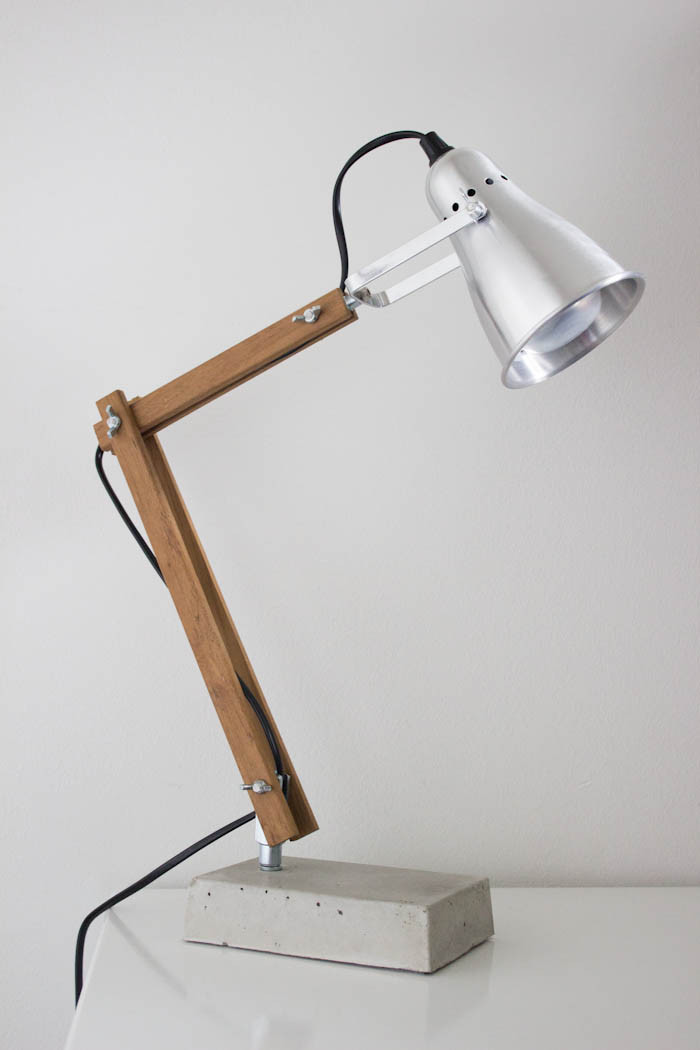 Best ideas about Diy Desk Lamp . Save or Pin Modern bedside lamp modern bedroom bedside lamp bedroom Now.