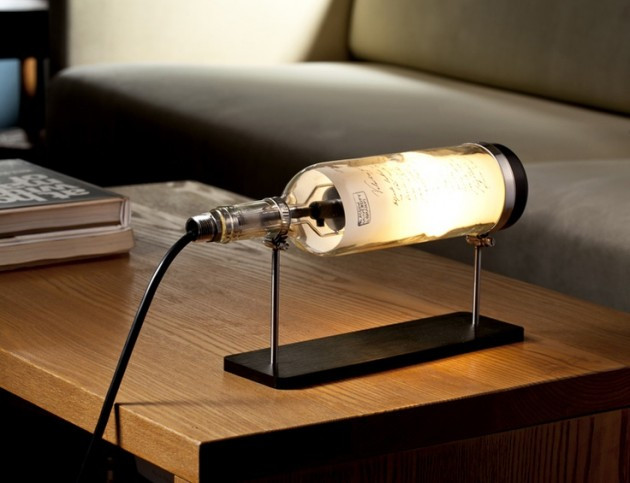 Best ideas about Diy Desk Lamp . Save or Pin 30 Amazing Diy Bottle Lamp Ideas Now.