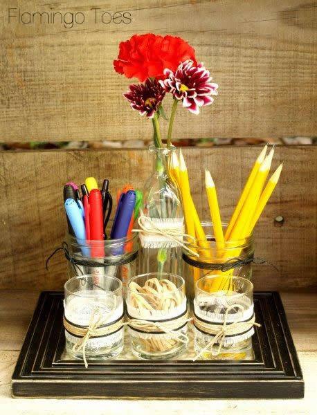 Best ideas about DIY Desk Organizer Ideas . Save or Pin DIY Desk Organizer Teacher Appreciation Ideas Now.