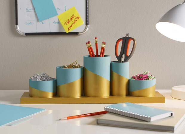 Best ideas about DIY Desk Organizer Ideas . Save or Pin DIY Desk Organizing Ideas & Projects Now.
