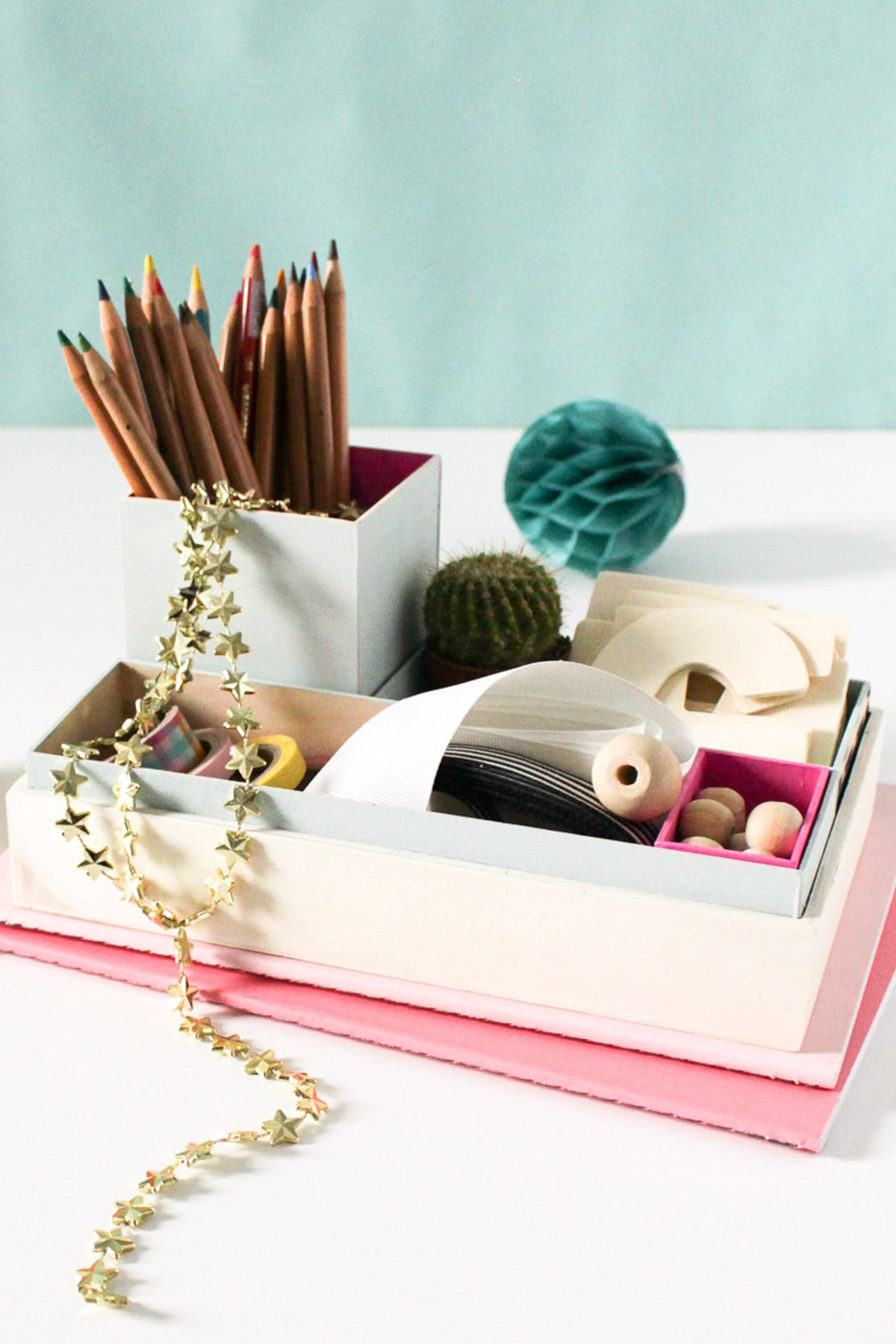 Best ideas about DIY Desk Organizer Ideas . Save or Pin DIY Nesting Desk Organizer Now.