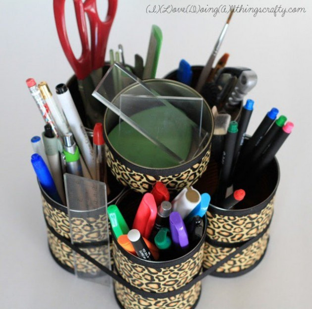 Best ideas about DIY Desk Organizer Ideas . Save or Pin 14 Creative & Practical DIY Desk Organization & Storage Ideas Now.