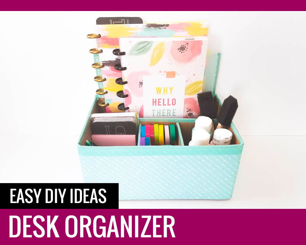 Best ideas about DIY Desk Organizer Ideas . Save or Pin Desk Organizer Easy DIY Ideas Paper and Landscapes Now.