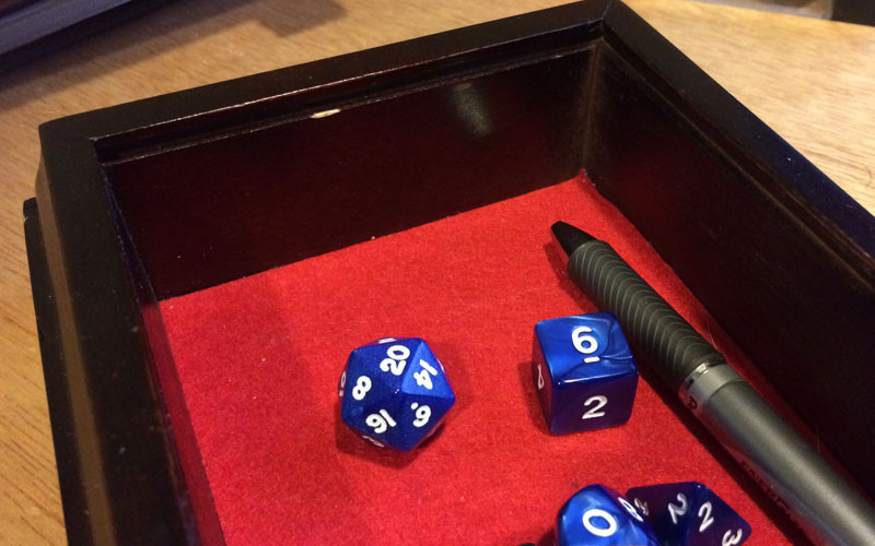 Best ideas about DIY Dice Box . Save or Pin DIY D&D Dice Box Webb Pickersgill Now.