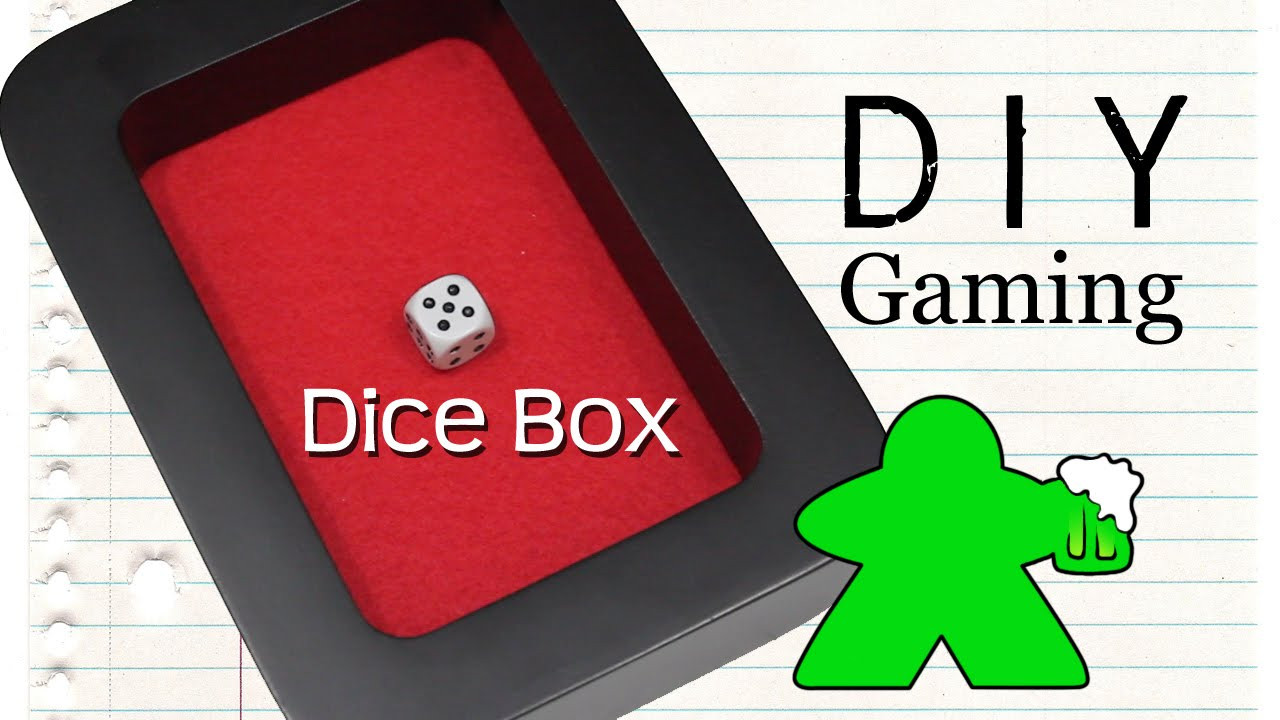 Best ideas about DIY Dice Box . Save or Pin DIY Gaming How to Make a Dice Box Now.