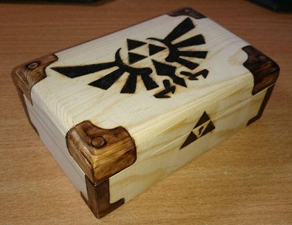 Best ideas about DIY Dice Box . Save or Pin Triforce Zelda Keepsake Rune Card Tarot Trinket Now.