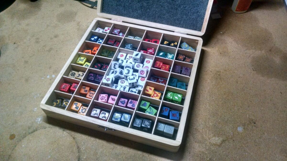 Best ideas about DIY Dice Box . Save or Pin How to create your own DIY Dice Masters Dice Box for AvX Now.
