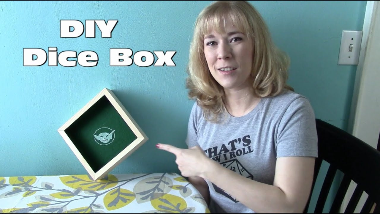 Best ideas about DIY Dice Box . Save or Pin R4I Side Quest DIY Dice Box Now.