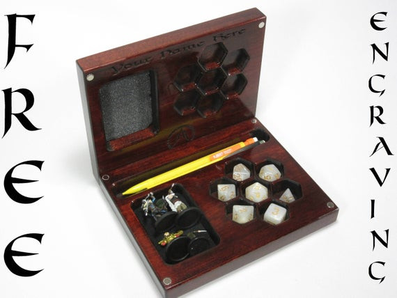 Best ideas about DIY Dice Box . Save or Pin The Player s Vault V2 Accessory Holder Dice Dice Box Now.