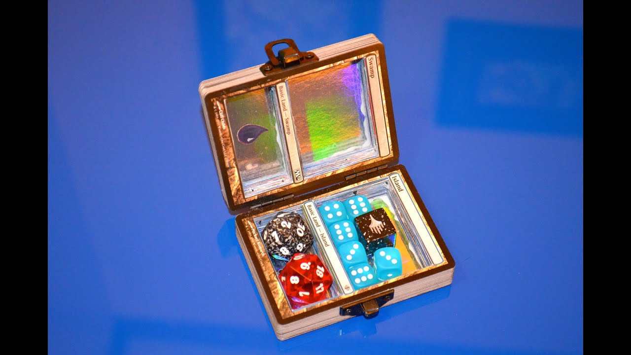 Best ideas about DIY Dice Box . Save or Pin How to make a custom MTG dice box Now.