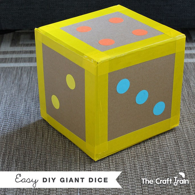 Best ideas about DIY Dice Box . Save or Pin 9 DIY Giant Games Tutorials Now.