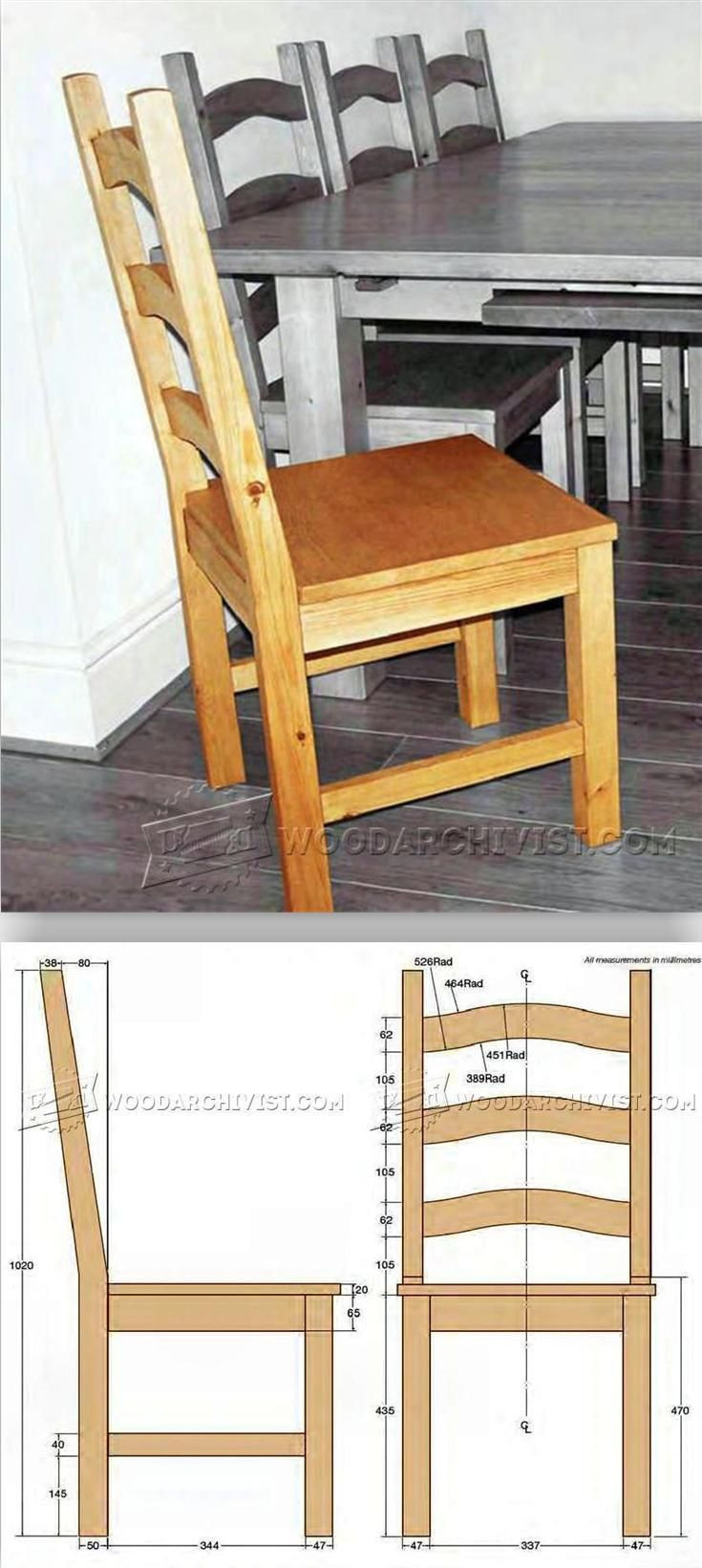 Best ideas about DIY Dining Room Chair Plans . Save or Pin 1000 ideas about Diy Chair on Pinterest Now.