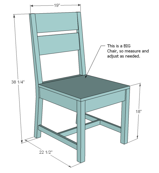 Best ideas about DIY Dining Room Chair Plans . Save or Pin Ana White Now.