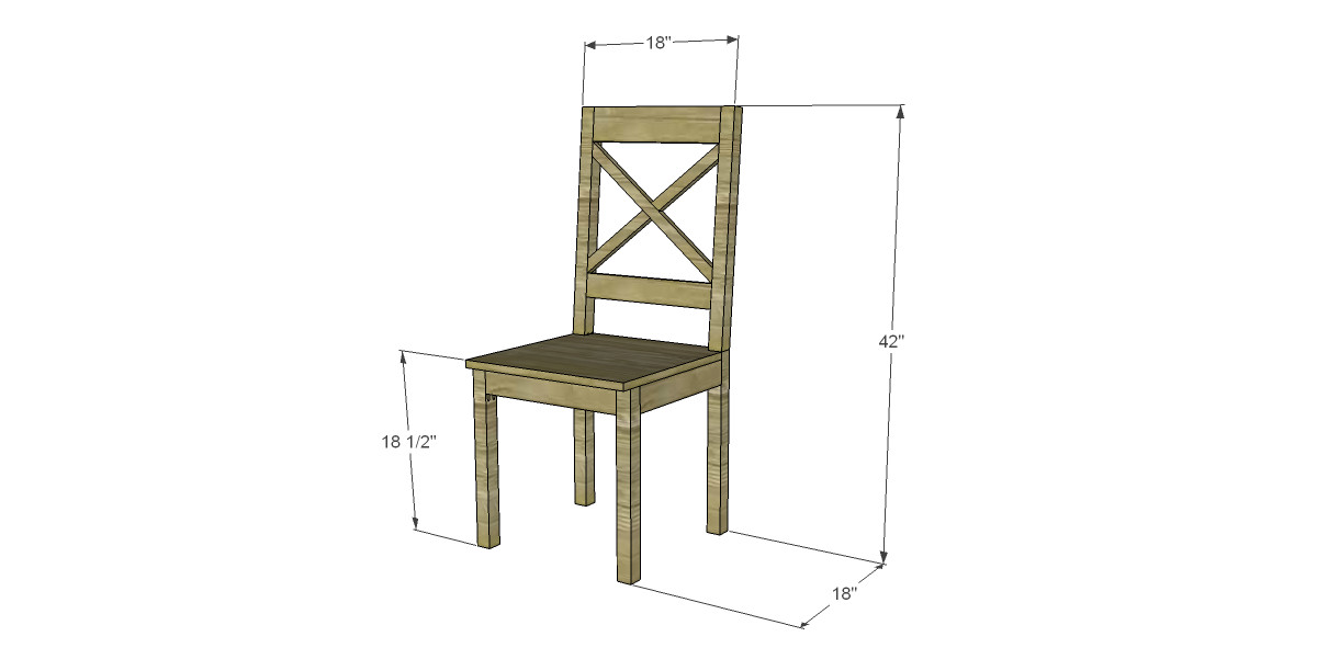Best ideas about DIY Dining Room Chair Plans . Save or Pin Free Plans to Build a Dining Chair 2 Now.