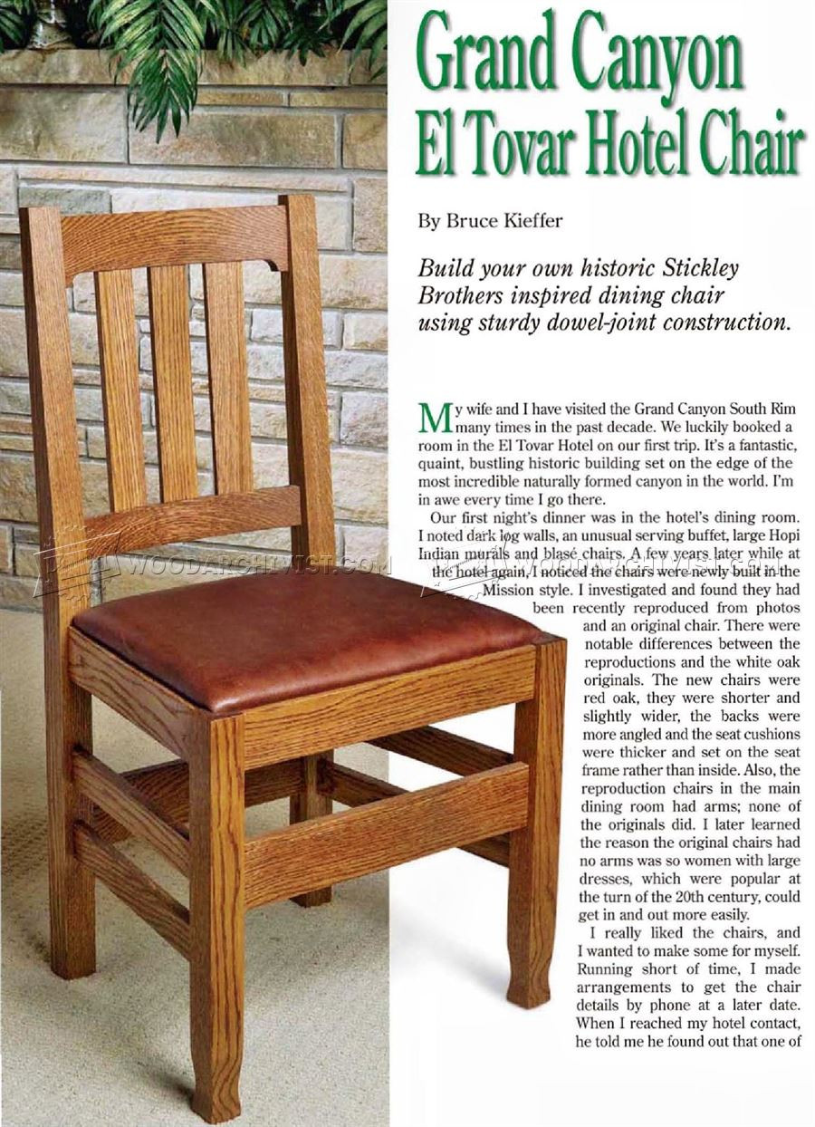 Best ideas about DIY Dining Room Chair Plans . Save or Pin Dining Room Chair Plans • WoodArchivist Now.