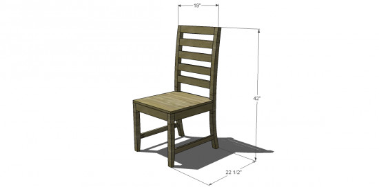 Best ideas about DIY Dining Room Chair Plans . Save or Pin Free DIY Furniture Plans to Build a Francine Dining Chair Now.