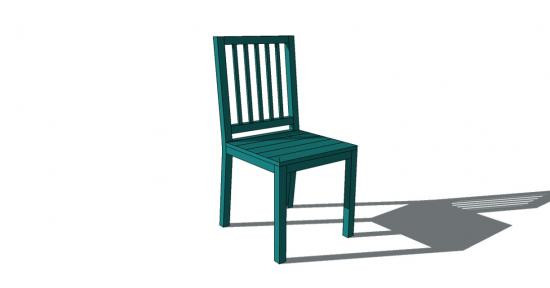Best ideas about DIY Dining Room Chair Plans . Save or Pin Free DIY Furniture Plans to Build a Slatted Louis XVI Now.