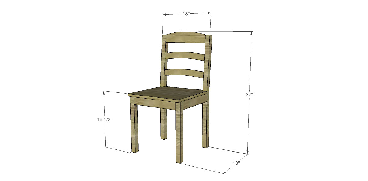 Best ideas about DIY Dining Room Chair Plans . Save or Pin Free Plans to Build a Dining Chair 1 Now.
