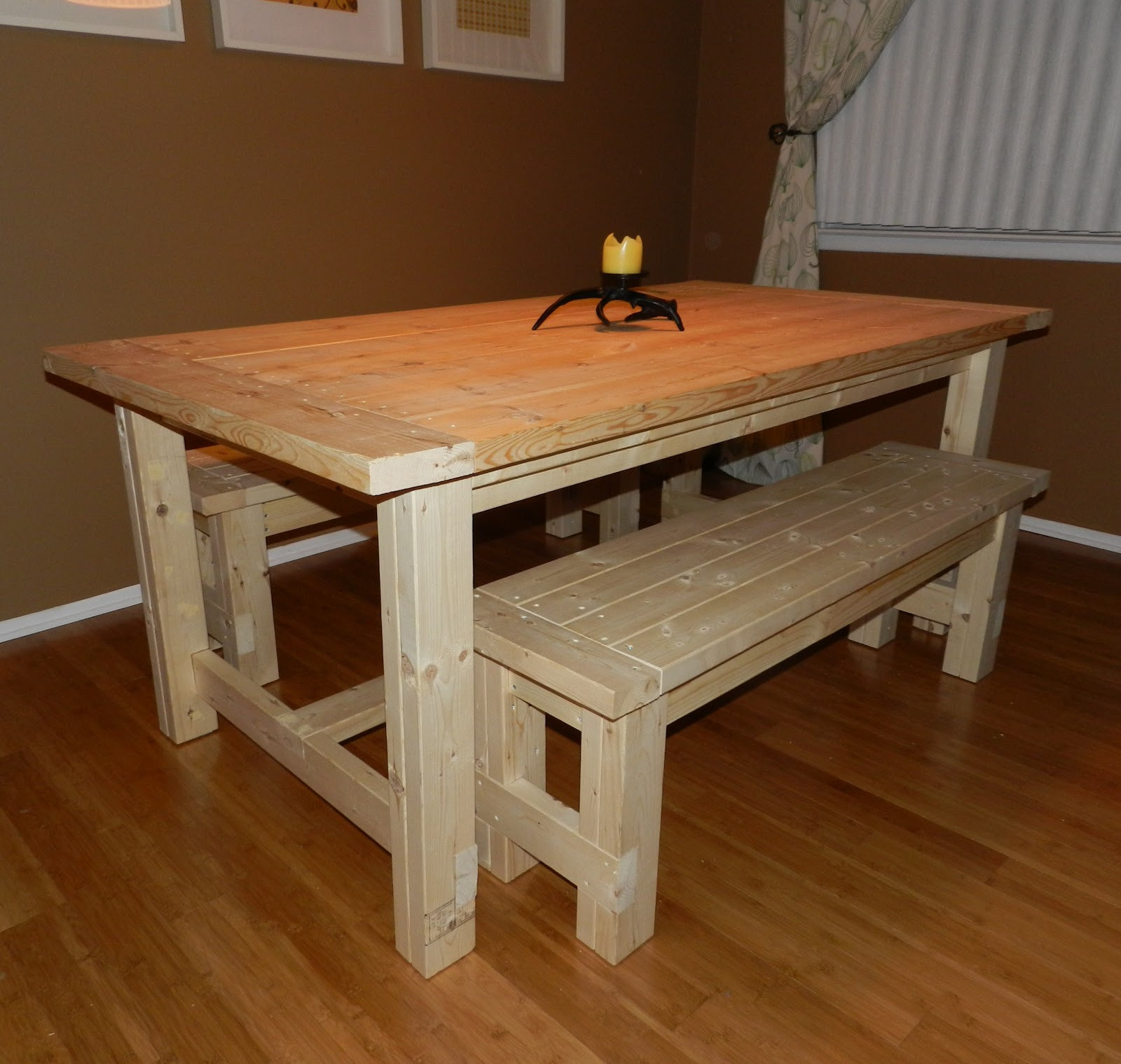 Best ideas about Diy Dining Table . Save or Pin DIY Projects DIY dining table Now.