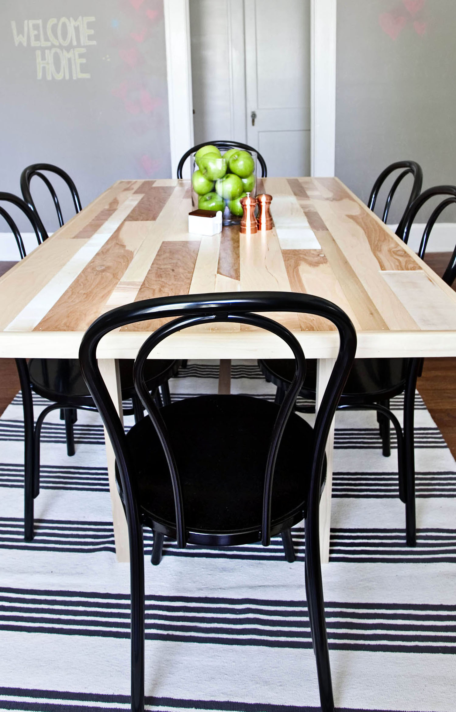 Best ideas about Diy Dining Table . Save or Pin DIY Six Seat Dining Room Table A Beautiful Mess Now.