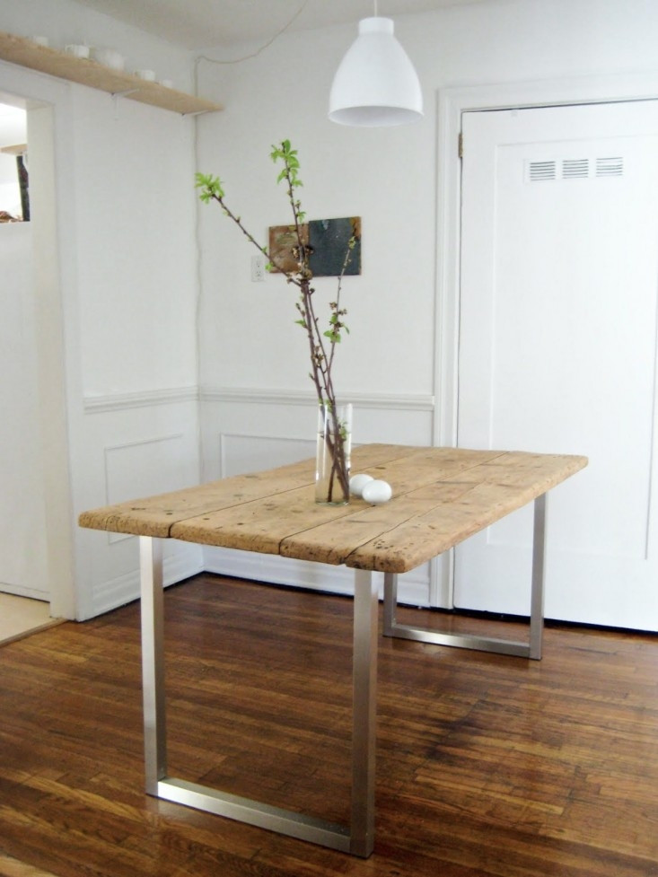 Best ideas about Diy Dining Table . Save or Pin DIY An Old Meets New Dining Table for Under $125 Now.