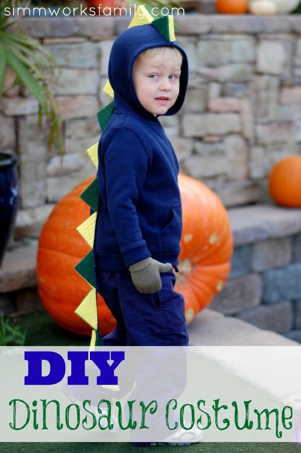 Best ideas about DIY Dinosaur Costume Toddler . Save or Pin DIY Halloween Costumes for Kids My Life and Kids Now.