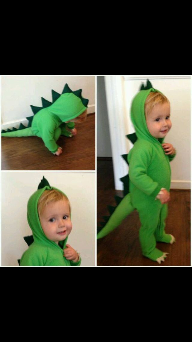 Best ideas about DIY Dinosaur Costume Toddler . Save or Pin Dinosaur Costume Halloween Fun Pinterest Now.