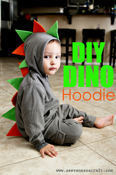 Best ideas about DIY Dinosaur Costume Toddler . Save or Pin 20 crafty days of halloween diy dino hoo See Now.