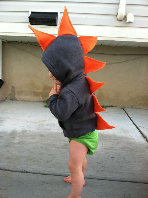 Best ideas about DIY Dinosaur Costume Toddler . Save or Pin 15 Homemade Halloween Costumes for Kids Now.