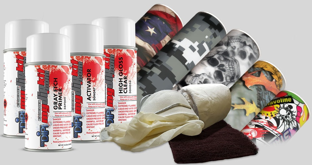 Best ideas about DIY Dip Kits . Save or Pin My Dip Kit DIY Hydro Dipping Hydrographics Now.