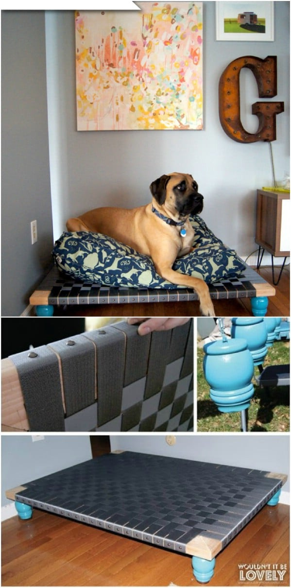 Best ideas about DIY Dog Bed For Large Dogs . Save or Pin 20 Easy DIY Dog Beds and Crates That Let You Pamper Your Now.