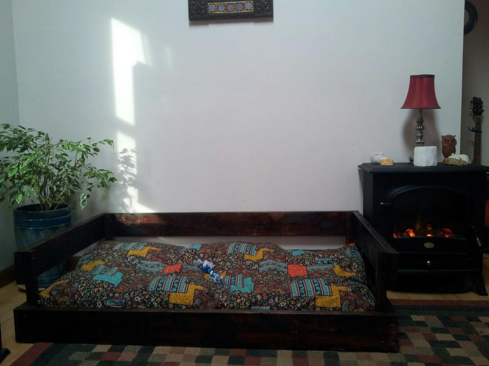 Best ideas about DIY Dog Bed Frame . Save or Pin DIY Dog Bed Frame & Pillow for $50 or less Now.