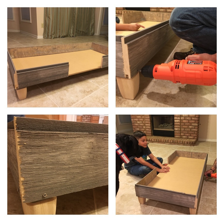 Best ideas about DIY Dog Bed Frame . Save or Pin How We Built A Rustic DIY Dog Bed Frame Now.
