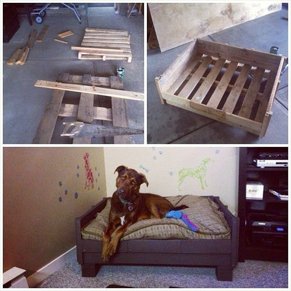 Best ideas about DIY Dog Bed Frame . Save or Pin DIY Wooden Dog Beds From Euro pallets – Fresh Design Pedia Now.