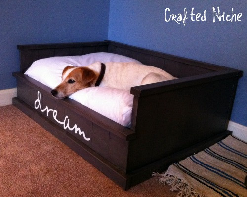 Best ideas about DIY Dog Bed Frame . Save or Pin Make a Dog Bed How to DIY Blog Now.