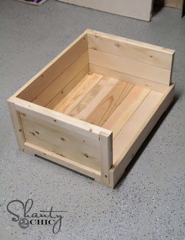 Best ideas about DIY Dog Bed Frame . Save or Pin DIY $12 Pet Bed Shanty 2 Chic Now.