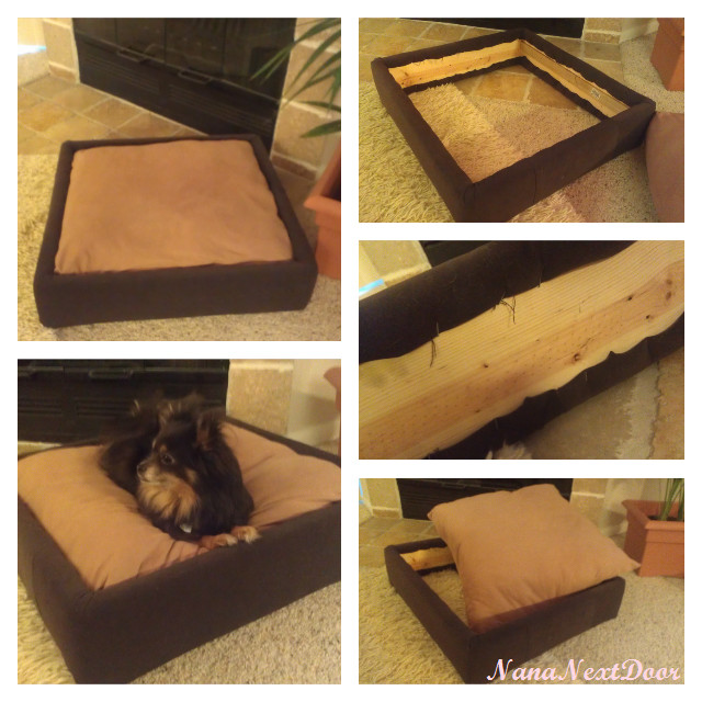Best ideas about DIY Dog Bed Frame . Save or Pin Diy Pillow pet bed Mi niños Now.