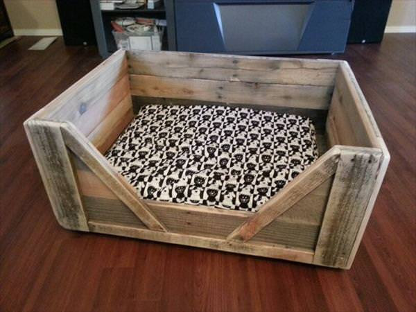 Best ideas about DIY Dog Bed Pallet . Save or Pin Top 5 Ideas for Building a Pallet Dog Bed Page 2 of 2 Now.