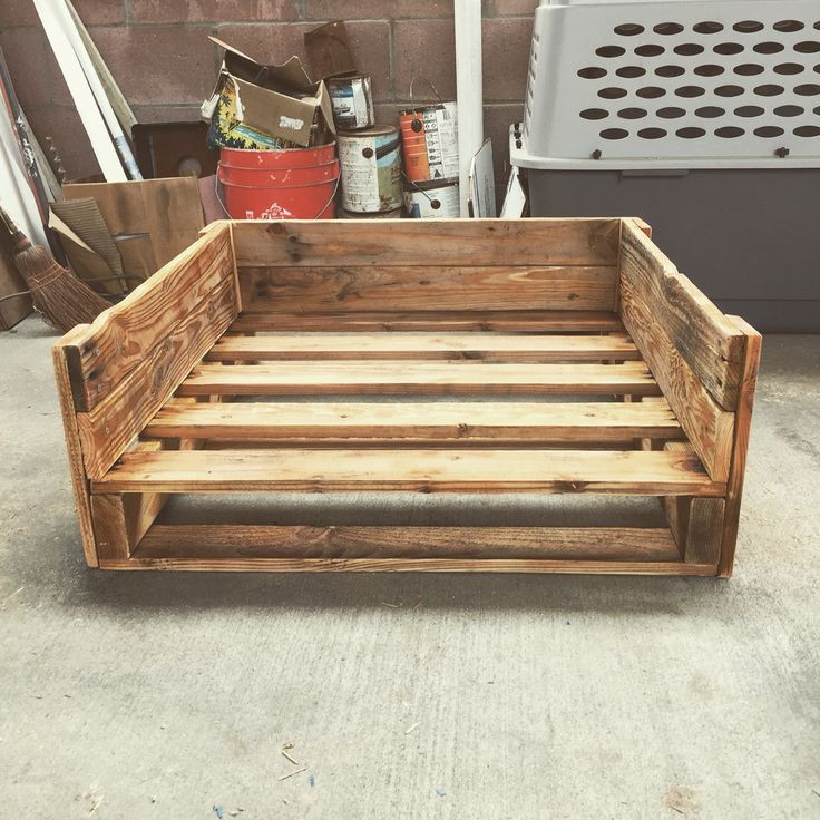 Best ideas about DIY Dog Bed Pallet . Save or Pin Best 25 Pallet dog house ideas on Pinterest Now.