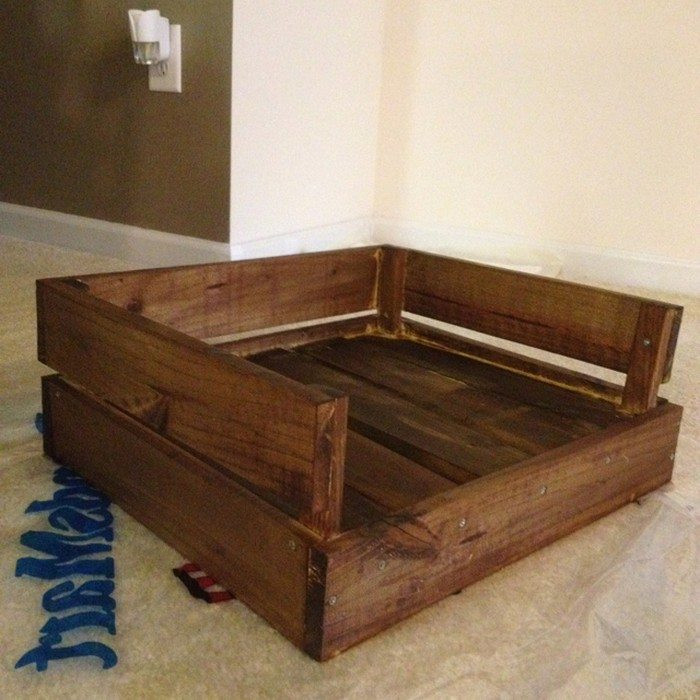 Best ideas about DIY Dog Bed Pallet . Save or Pin Make a Pallet Dog Bed Now.