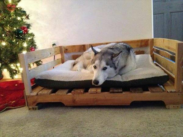 Best ideas about DIY Dog Bed Pallet . Save or Pin 11 DIY Pallet Dog Bed Ideas Now.