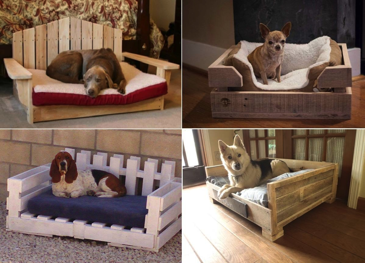 Best ideas about DIY Dog Bed Pallet . Save or Pin DIY Dog Bed Using Wooden Pallets Find Fun Art Projects Now.