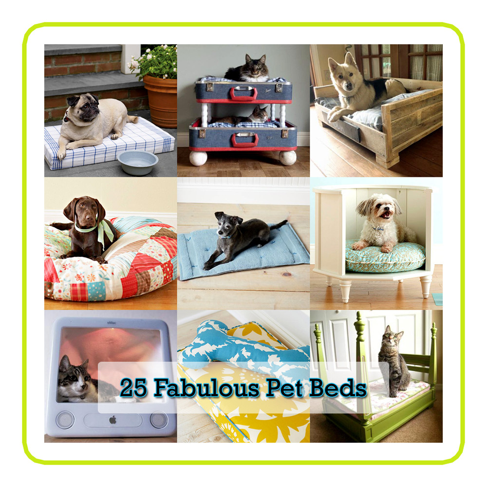Best ideas about DIY Dog Beds . Save or Pin 25 Fabulous DIY Pet Bed Ideas rt 2 The Cottage Market Now.