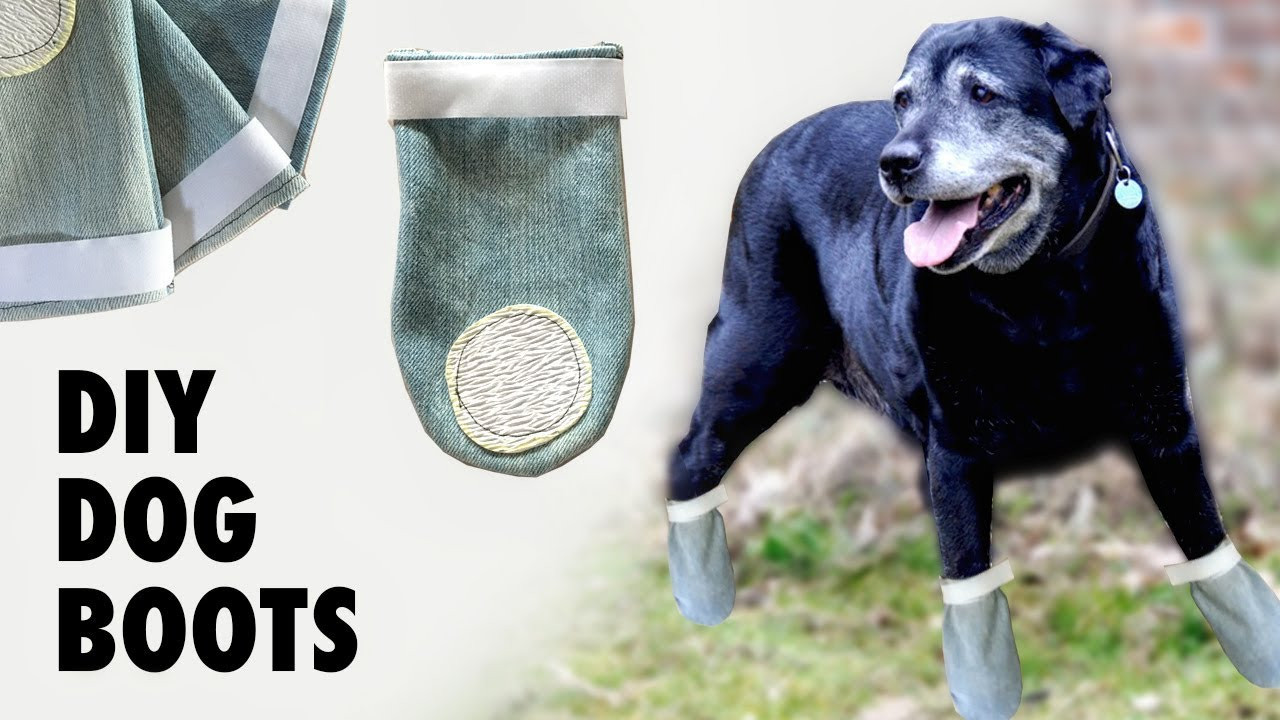 Best ideas about DIY Dog Booties No Sew . Save or Pin DIY Dog Shoes Boots Do they really work Now.