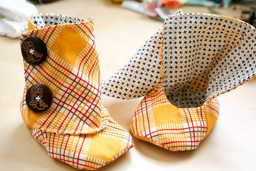 Best ideas about DIY Dog Booties No Sew . Save or Pin free baby boot pattern Felt & Fabric Crafts Now.