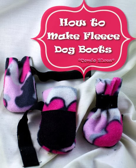 Best ideas about DIY Dog Booties No Sew . Save or Pin Condo Blues How to Make Dog Boots Now.
