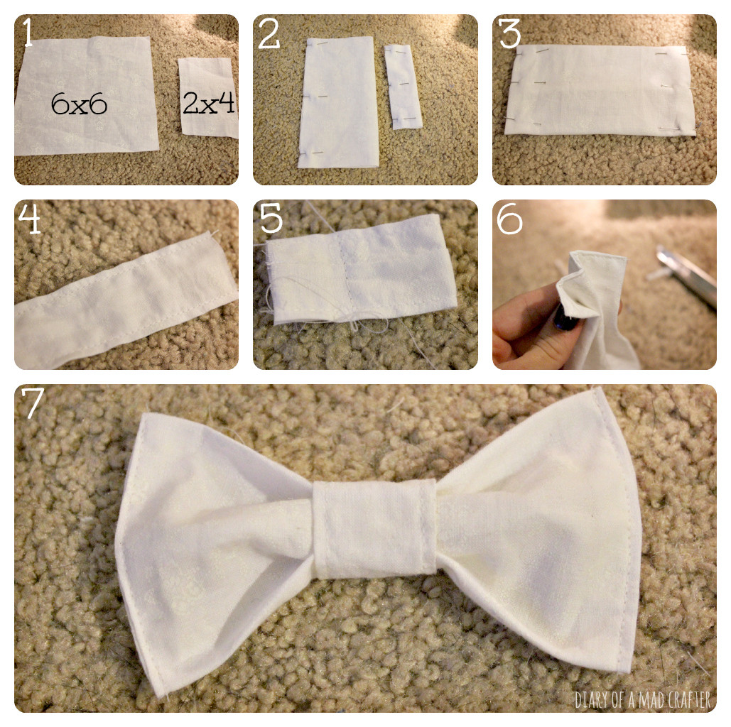 Best ideas about DIY Dog Bow Tie . Save or Pin DIY Doggie Bow Tie Collar Now.