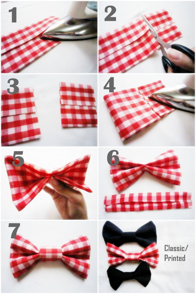 Best ideas about DIY Dog Bow Tie . Save or Pin Clip on Elegance DIY No Sew Bowtie Tutorial Now.
